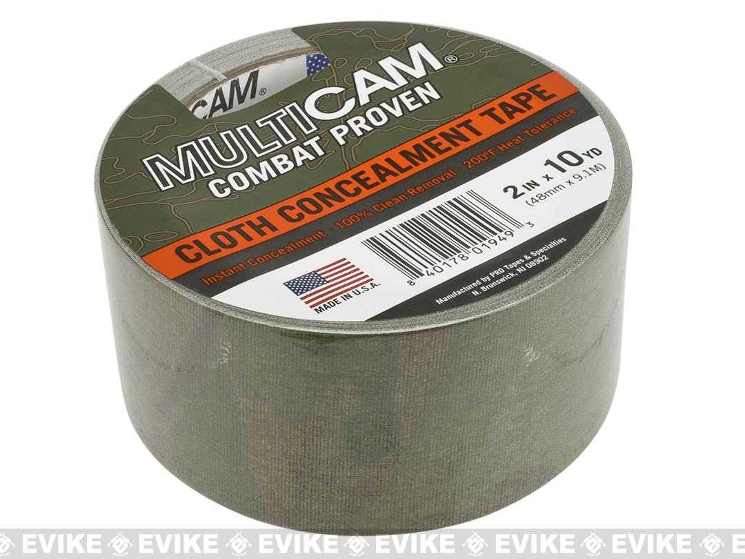 PRO Tapes Multicam Cloth Concealment Tape - 2in x 10 Yards
