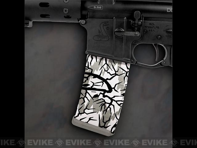 US NightVision Mag Wraps™ Rapid Wraps - Predator Camo: Winter White