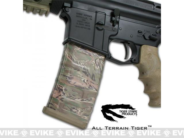 US NightVision Mag Wraps™ Rapid Wraps - Tiger Stripe: All Terrain Tiger