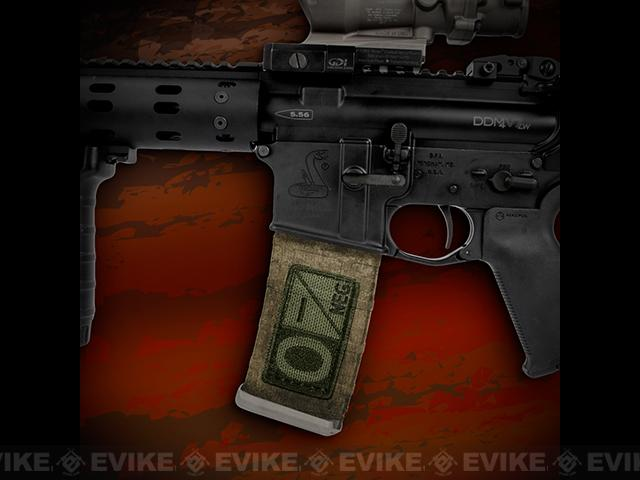 US NightVision Mag Wraps™ Rapid Wraps - Blood Type: O Neg