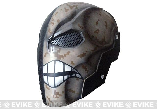 Evike.com R-Custom Fiberglass Wire Mesh Warface - Desert Inspired by Deathstroke