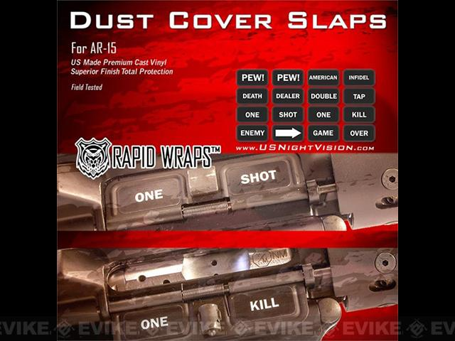 US NightVision Rapid Wraps™ Dust Cover Slaps - AR-15 Standard Edition