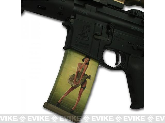 US NightVision Mag Wraps™ Hot Shots 2013 Pin-Ups - Rosie Cover