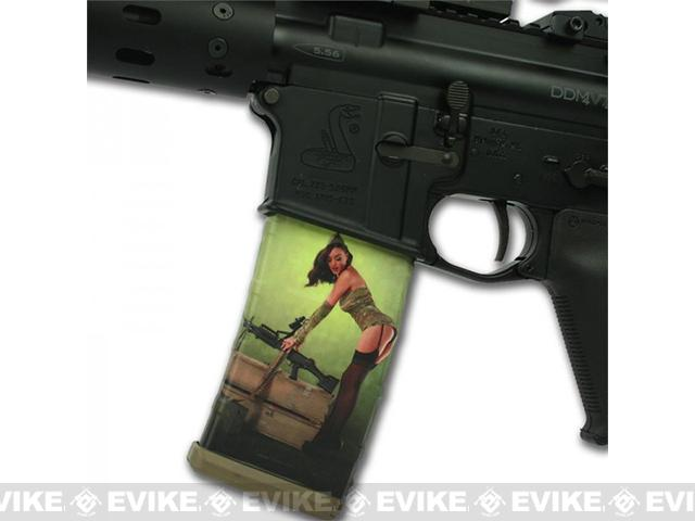 US NightVision Mag Wraps™ Hot Shots 2013 Pin-Ups - Rosie August