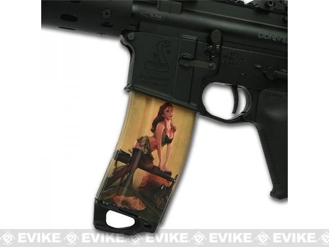 US NightVision Mag Wraps™ Hot Shots 2013 Pin-Ups - Kelly January