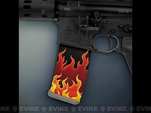 US NightVision Mag Wraps™ Rapid Wraps - Flames