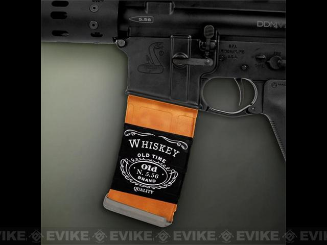 US NightVision Mag Wraps™ Rapid Wraps - Whiskey 5.56