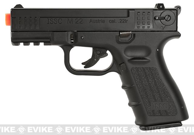 WinGun Licensed ISSC M-22 CO2 Non-Blowback Pistol with Metal Slide