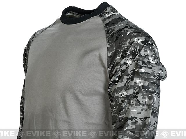 Cast Gear Tactical Combat T-Shirt - Digital Urban (Size: X-Large)