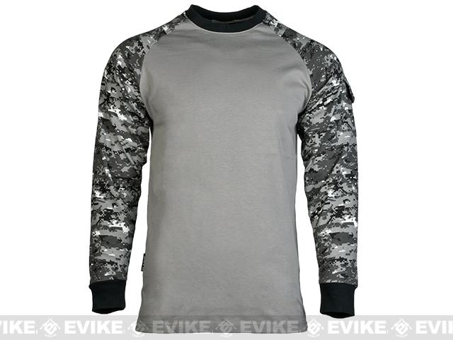 Cast Gear Tactical Combat T-Shirt - Digital Urban (Size: Large)