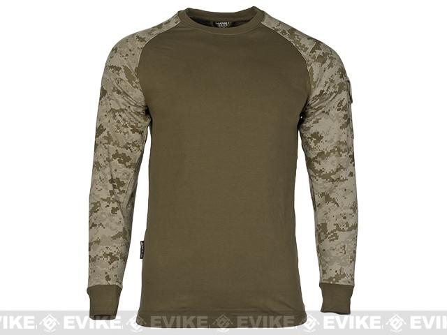 Cast Gear Tactical Combat T-Shirt - Desert Digital (Size: X-Large)