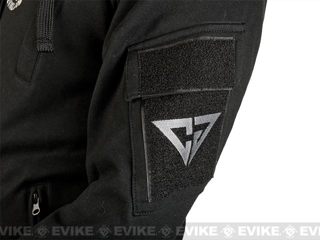 CAST Gear Evike.com Exclusive Tactical Pullover Hoodie - Black (Size: X-Large)