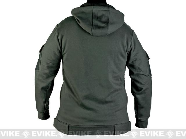 CAST Gear Evike.com Exclusive Tactical Pullover Hoodie - Grey (Size: X-Large)