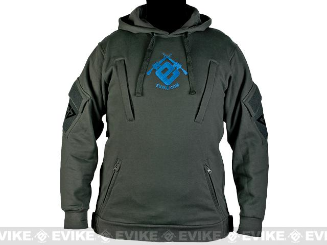 CAST Gear Evike.com Exclusive Tactical Pullover Hoodie - Grey (Size: Large)