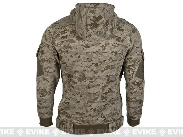 CAST Gear Tactical Pullover Hoodie - Desert Digital (Size: Large)