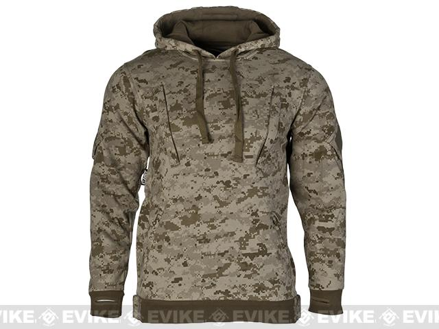 CAST Gear Tactical Pullover Hoodie - Desert Digital (Size: Small)