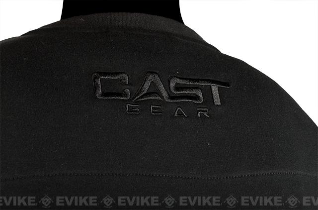 CAST Gear Evike.com Exclusive Tactical Pullover Crew Neck Sweatshirt - Black (Size: X-Large)