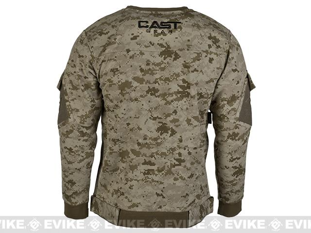 CAST Gear Tactical Pullover - Desert Digital (Size: Small)