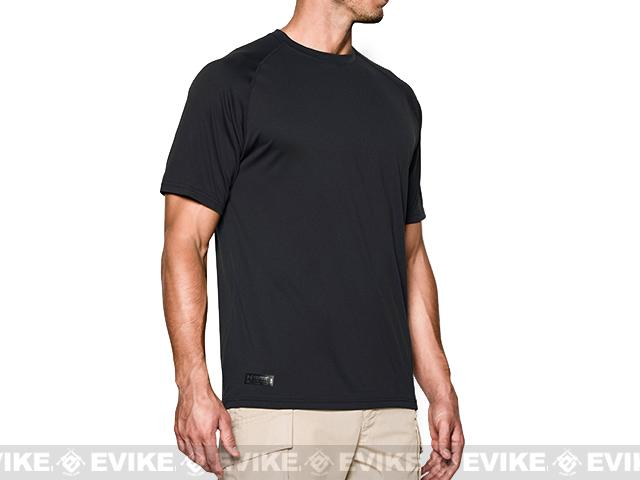 Under Armour Men's UA Tactical Tech™ Short Sleeve T-Shirt - Black (Large)