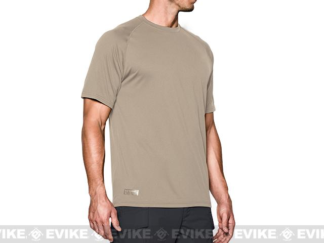 Under Armour Men's UA Tactical Tech™ Short Sleeve T-Shirt - Desert Sand (Small)