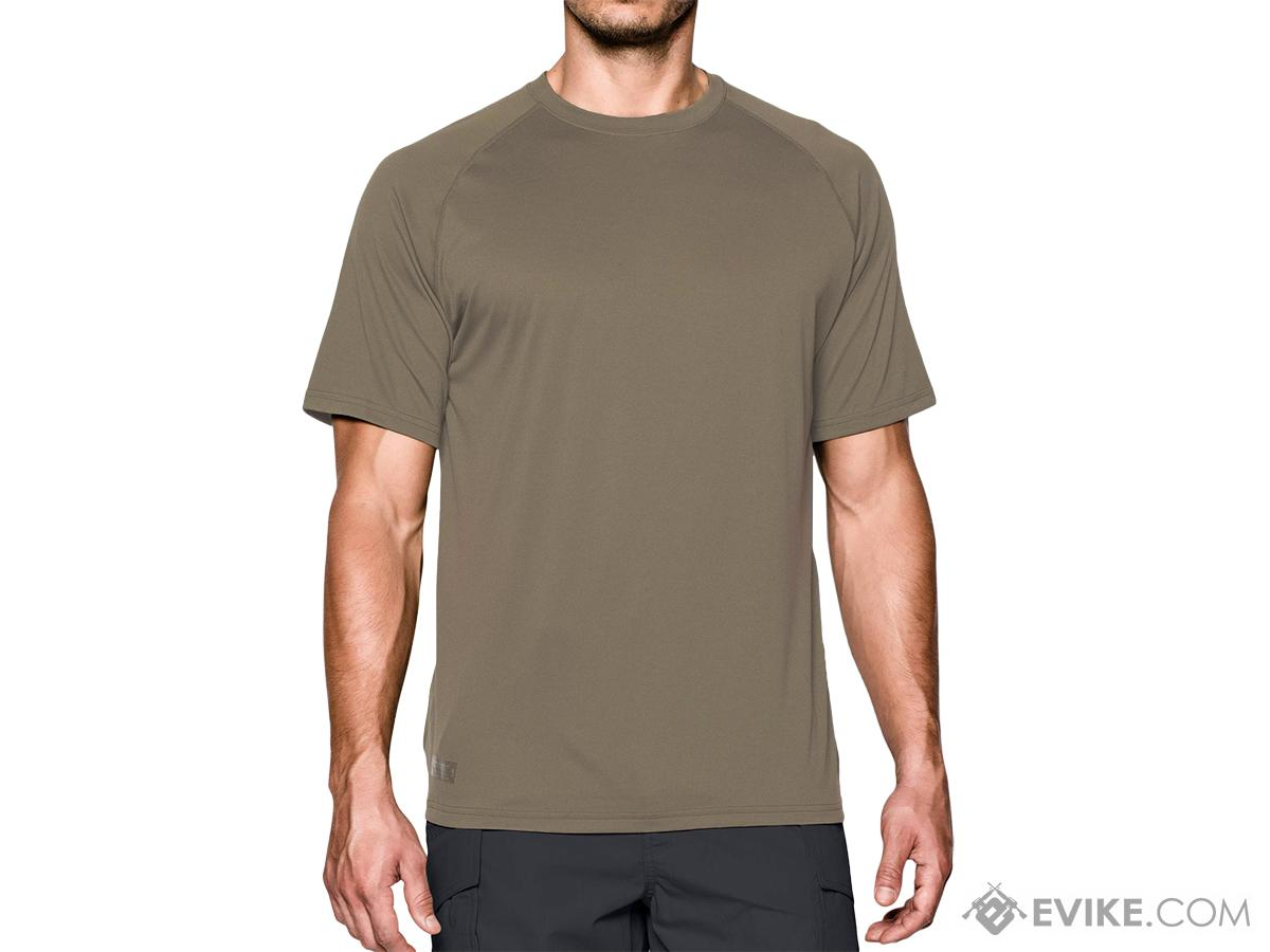 Under Armour Men�s UA Tactical Tech� Short Sleeve T-Shirt - Federal Tan (Size: Large)