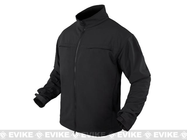 Condor Covert Softshell Jacket - Black (Size: Small)