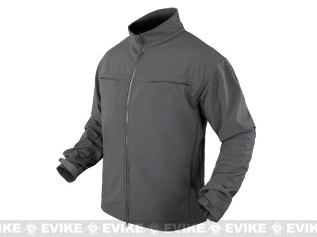 Condor Covert Softshell Jacket - Graphite (Size: Medium)