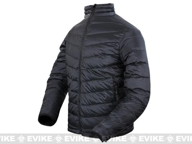 Condor Zephyr Lightweight Down Jacket - Black (Size: Large)