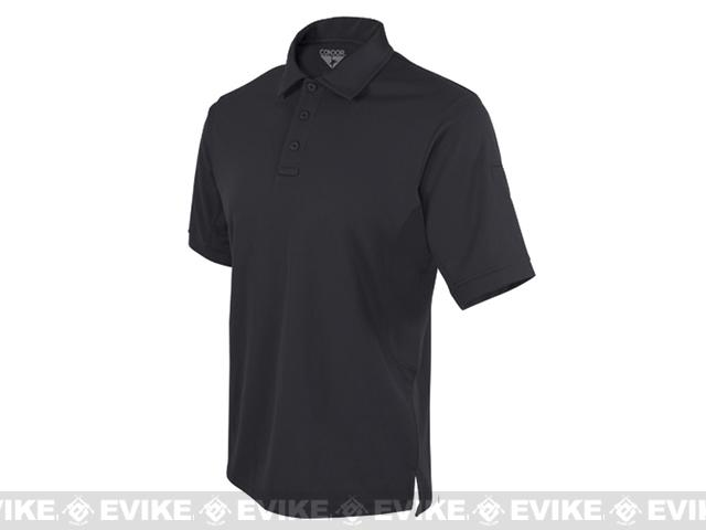 Condor Performance Tactical Polo - Black (Size: XX-Large)