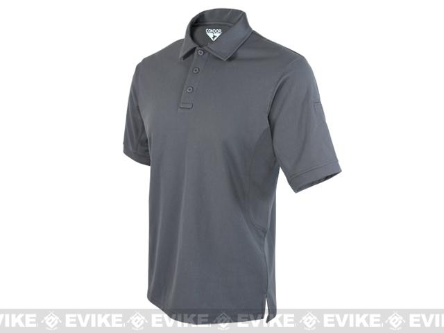 Condor Performance Tactical Polo - Graphite (Size: Small)