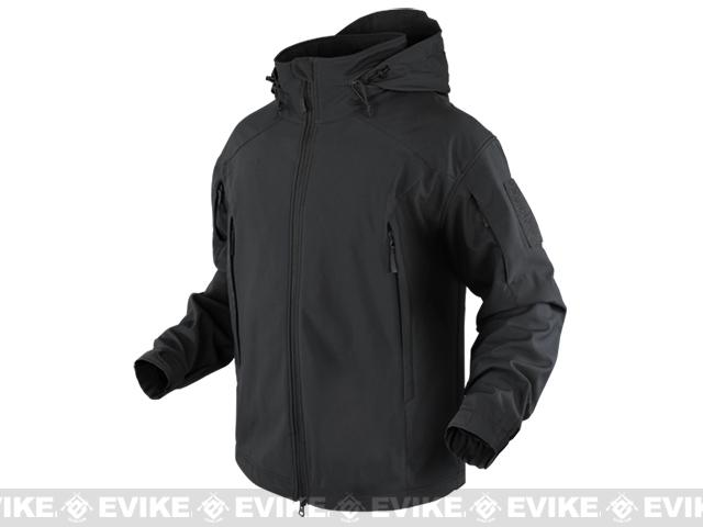 Condor Element Soft Shell Jacket - Black (Size: Large)