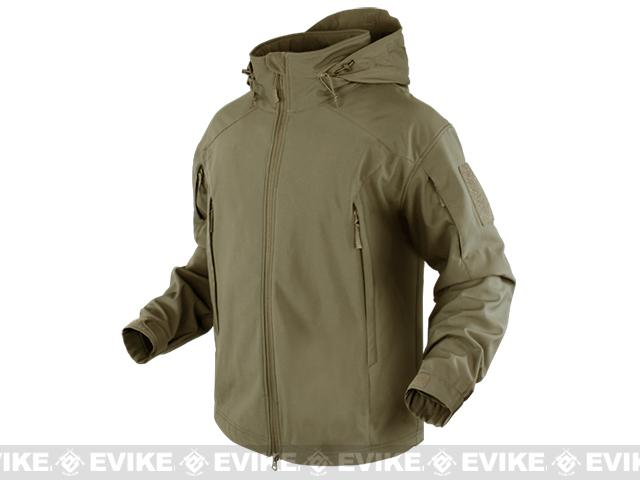 Condor Element Soft Shell Jacket - Tan (Size: Medium)