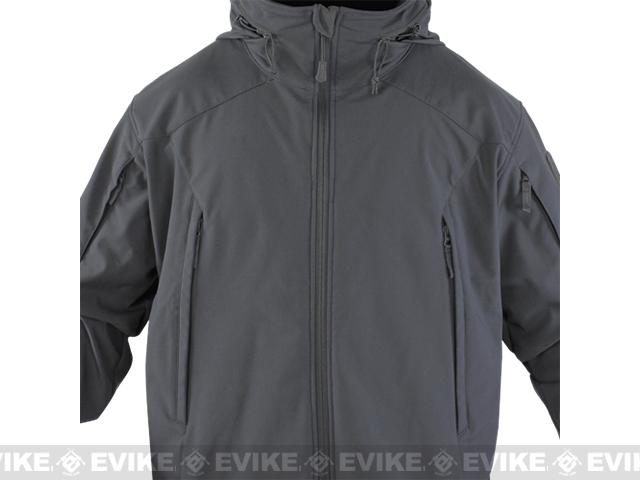 Condor Element Soft Shell Jacket - Graphite (Size: Small)
