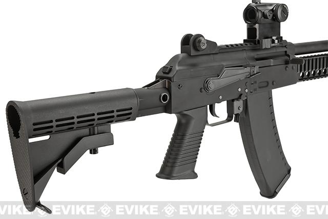 KWA Full Metal AKG-KCR Airsoft Gas Blowback GBB Rifle