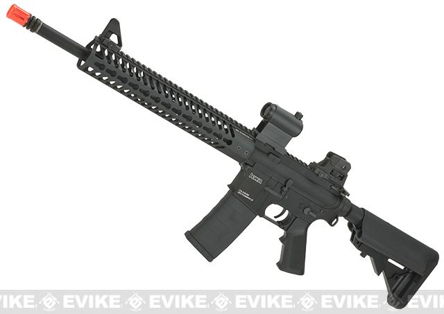 KWA Full Metal KR12 Airsoft AEG Rifle with 12  KeyMod Handguard