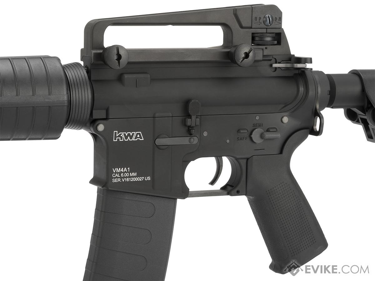 KWA Full Metal KM4A1 Airsoft AEG Rifle - (Package: Add 7.4V 20C 1300mAh LiPo Battery + Charger)