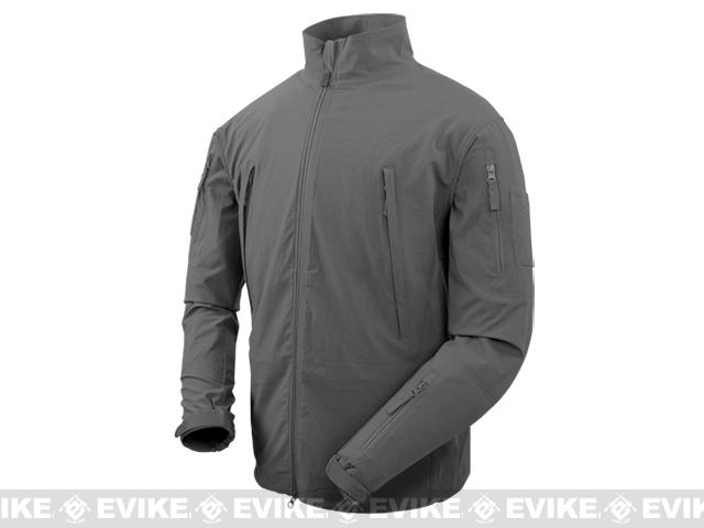 Condor Vapor Ripstop Windbreaker Jacket - Graphite (Size: Large)