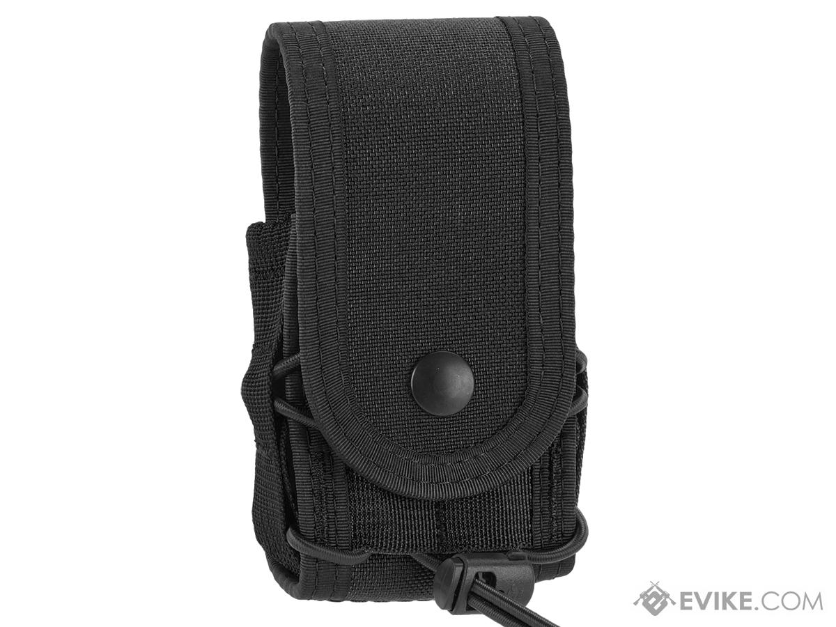 High Speed Gear HSGI Belt Mounted Covered Handcuff TACO Pouch - Black