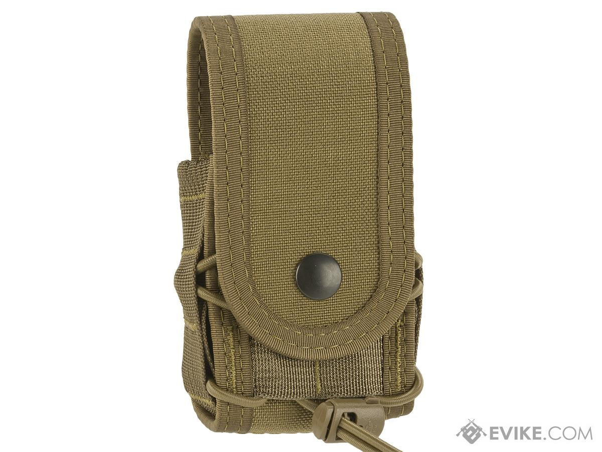 High Speed Gear HSGI Belt Mounted Covered Handcuff TACO Pouch - Coyote Brown