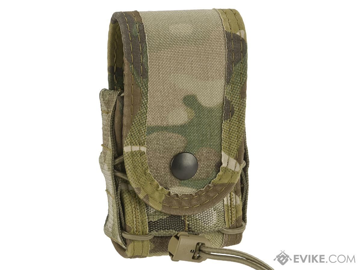 High Speed Gear HSGI Belt Mounted Covered Handcuff TACO Pouch - Multicam