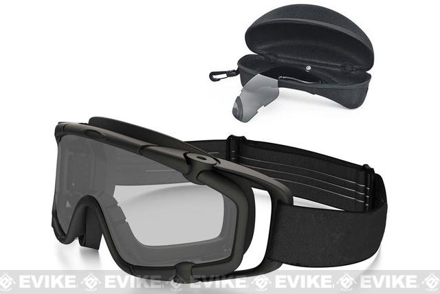 Oakley Full Seal Ballistic Goggle  ARRAY - Matte Black w/ Clear & Grey Lens