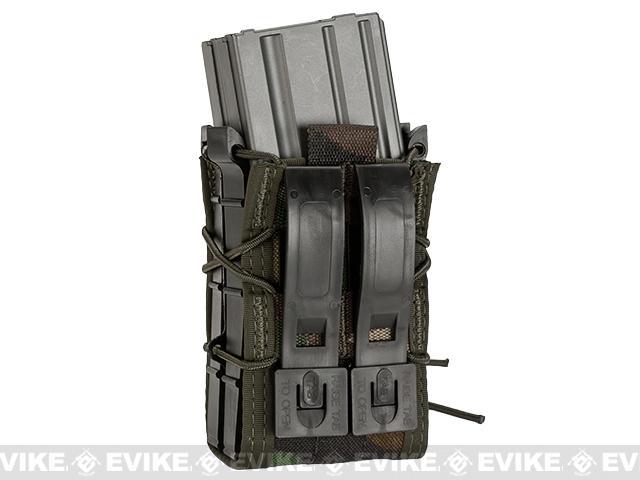 HSGI X2R TACO® Modular Double Rifle Magazine Pouch - Woodland Camo