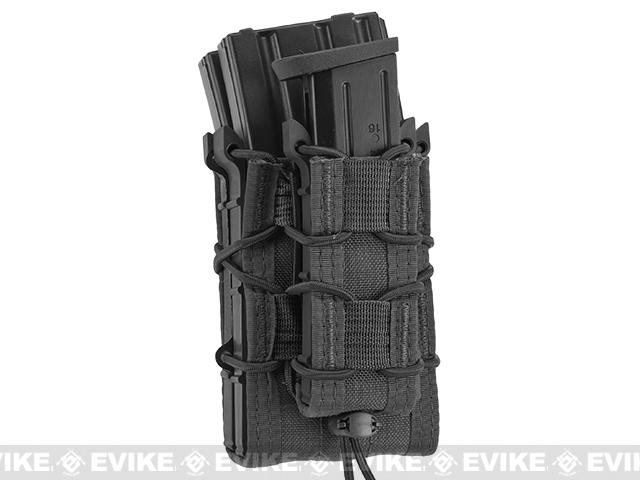 HSGI X2R/P TACO® Modular Double Rifle Magazine Pouch with Single Pistol Magazine Pouch - Black