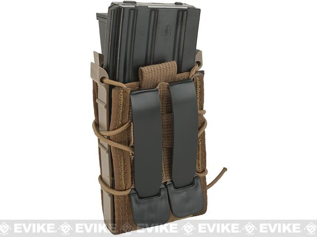 HSGI Double Decker TACO® Modular Single Rifle and Pistol Magazine Pouch - Coyote Brown