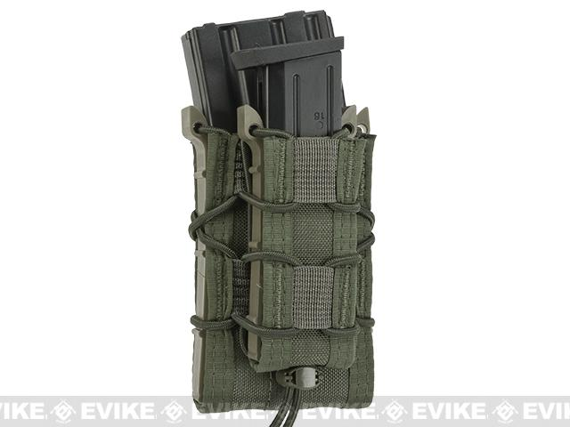 HSGI Double Decker TACO® Modular Single Rifle and Pistol Magazine Pouch - Smoke Green