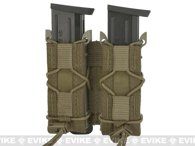 HSGI Double Pistol TACO® Modular Single Pistol Magazine Pouch - Coyote
