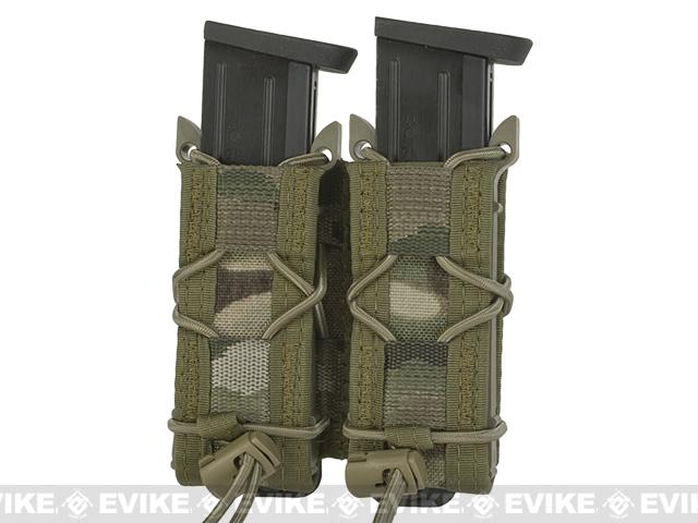 HSGI Double Pistol TACO® Modular Single Pistol Magazine Pouch - Multicam