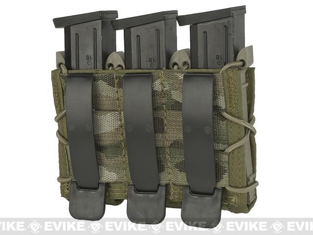 HSGI Triple Pistol TACO® Modular Triple Pistol Magazine Pouch - Multicam