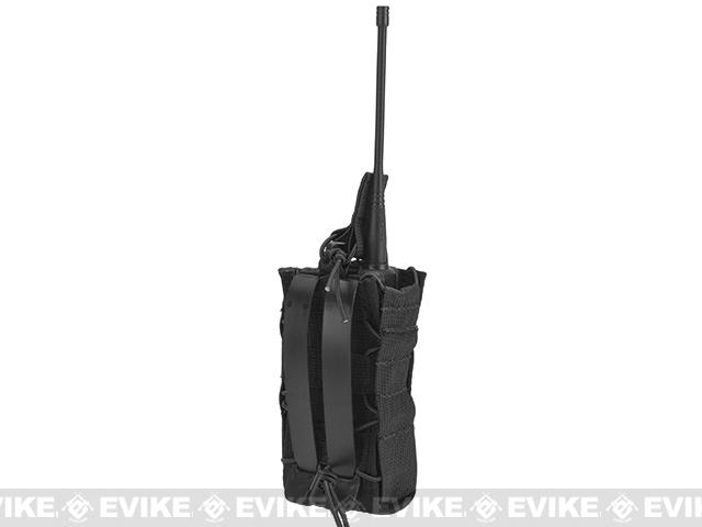 HSGI High Speed Gear Radio Pop-Up Radio MOLLE Mounted Pouch - Black