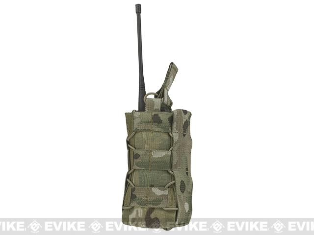 HSGI High Speed Gear Radio Pop-Up Radio MOLLE Mounted Pouch - Multicam